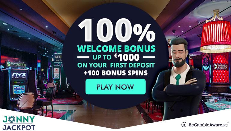 Grab a $1000 Welcome Bonus at Jonny Jackpot
