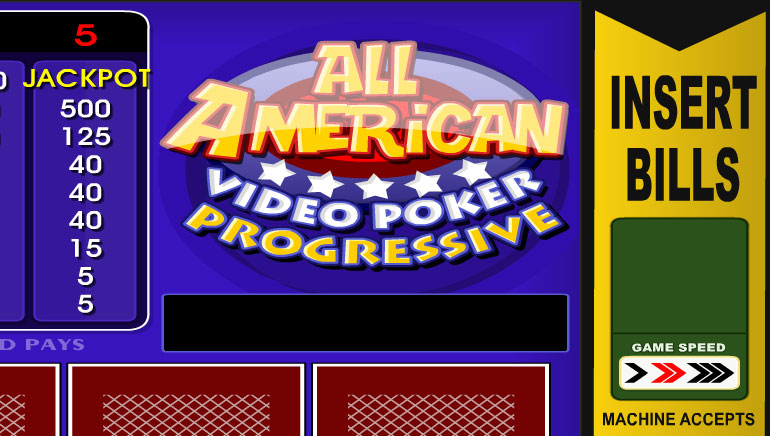Play All American Videopoker Online at Casino.com NZ