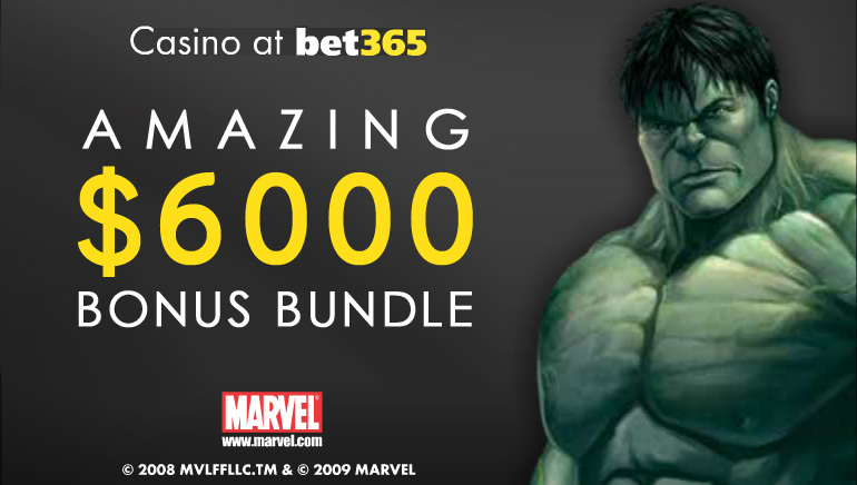 bet365 Offers A Generous $6,000 Bonus Bundle