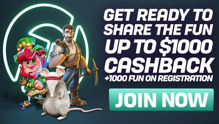 CasinoFair Ramps Up Cashbacks up to $1,000