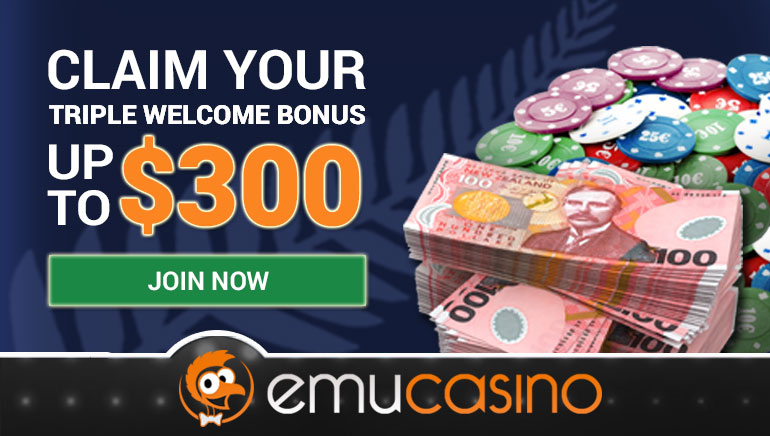 A Warm $300 Welcome At EmuCasino