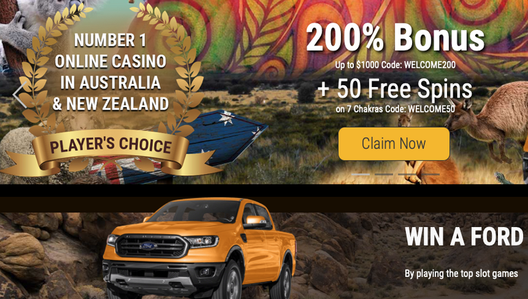 Still Time to Win Brand New Ford Ranger at Grand Rush Casino