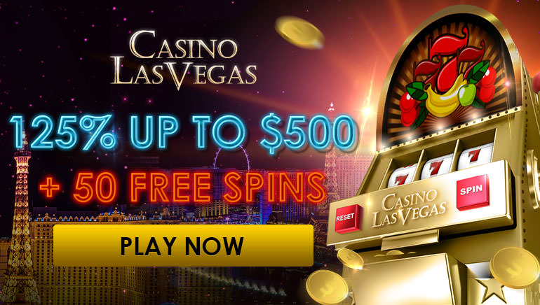 $500 and 50 Free Spins up For Grabs at Casino Las Vegas