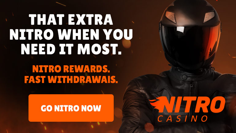 Nitro Casino is Bubbling Over with Plenty of Promotional Offers this Festive Season
