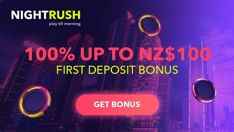 NightRush Casino Lights Up the Sky with Big Welcome Bonus